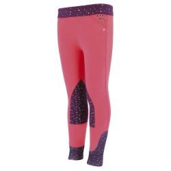 Pantalon Equi-Kids Pégase Rose / violet
