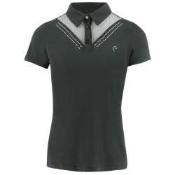 Equi-Theme Lady polo shirt Black