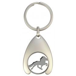 Porte-clés + jeton Caddie