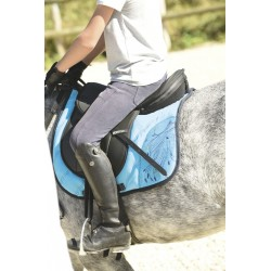 Equi-Kids Crinière Saddle pad Light blue
