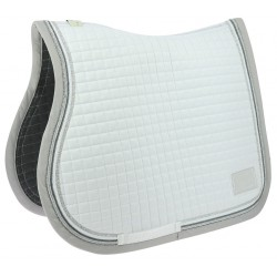 Equi-Theme Elégance Saddle Cloth White / silver
