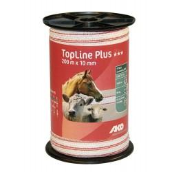 Ruban blanc / rouge TopLine Plus AKO