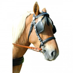 Chetak Bridle for EURO Harness