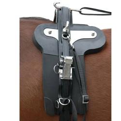 Eric Le Tixerant Quick Hitches trotting saddle Leather