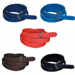 Nylon/leather Flags & Cup Stirrups