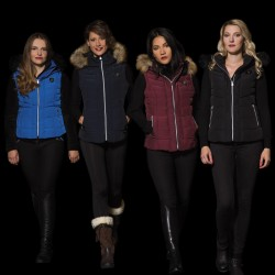 Flags & Cup SHERBROOKE Ladies Bodywarmer