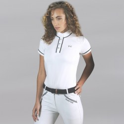 Flags & Cup CANDIBA Ladies half sleeves Polo