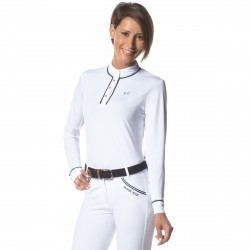 Polo CANDIBA femme ML Flags & Cup