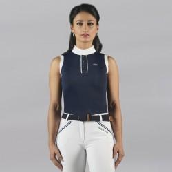 Polo CANDIBA femme sans manches Flags & Cup
