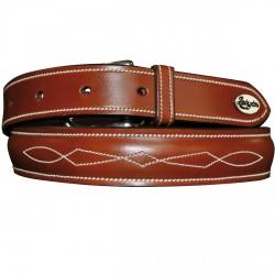 Cinturón Lexington pespuntada