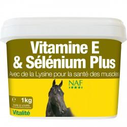 Vitamina E, selenio y lisina NAF