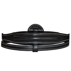Raised & Padded center part for Adjustable noseband Flags & Cup