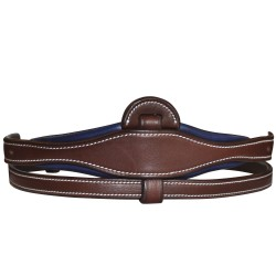 Flat & padded center part for Adjustable noseband Flags & Cup