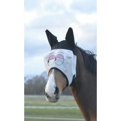 Máscara antimoscas Equi-Theme Regard con orejas