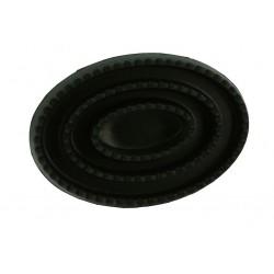 Almohaza hueca y oval de goma