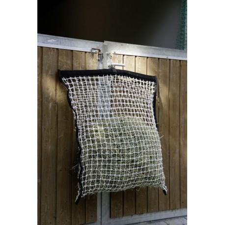 Foin Sac Sac |sack pour sac /à foin/ /Foin Avec Ouverture Fress et crochets de suspension Filet /à foin heutasche