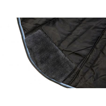 Couverture Equi-Theme Tyrex 1200 D High Neck 300g Gris / bleu