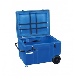 Baúl de transporte con ruedas La Gée Azul