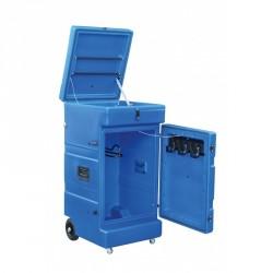 Baúl vertical con ruedas La Gée Azul