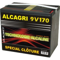 PILE ALCAGRI 9V 170Ah