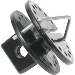 WIRE STRAINER PULLEY x2