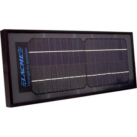 panneau solaire 6w lacm cl ture lectrique solaire. Black Bedroom Furniture Sets. Home Design Ideas