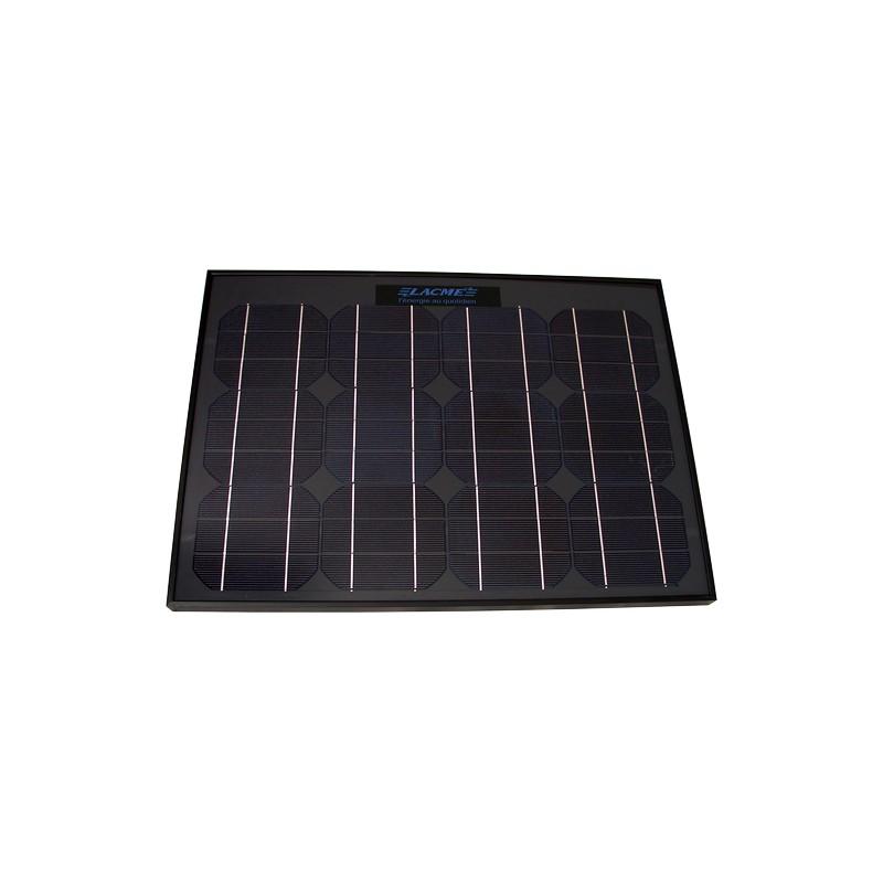 panneau solaire 25w lacm cl ture lectrique solaire. Black Bedroom Furniture Sets. Home Design Ideas