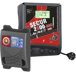 Secur 2600d de lacm cl ture lectrique electrificateur for Lacme clos 2000