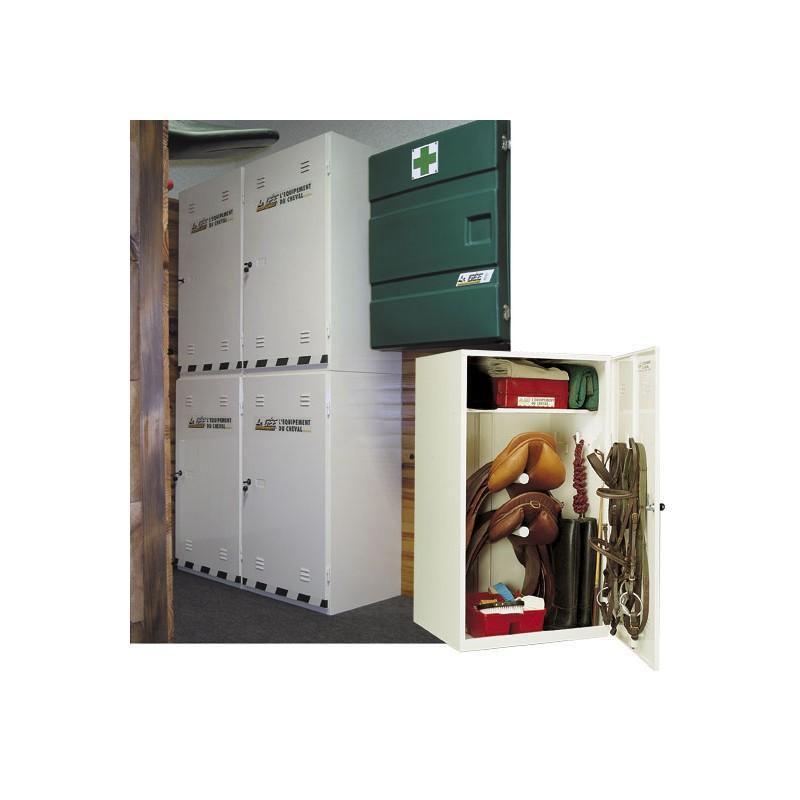 armoire de sellerie la g e casier quitation. Black Bedroom Furniture Sets. Home Design Ideas