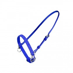 HEAD HALTER FIXED NYLON WITH MARTINGALE RING