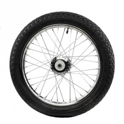 SULKY WHEEL 28'' CLEAR COVERS