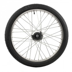 "ROCKCART WHEEL 19"" STAINLESS STEEL"
