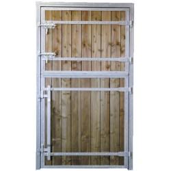 BOX DOOR PINE WOOD - LEFT OPENING