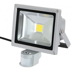 LED OUTDOOR SPOTLIGHT MENTION SENSOR