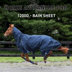 Manta de lluvia Combo Avalanche Pro Horze Supreme Azul