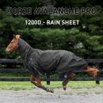 Couverture de pluie combo Avalanche PRO Horze Supreme Noir