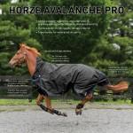 Couverture de mi-saison Avalanche PRO Horze Supreme Noir