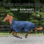 Manta de lluvia Avalanche Pro Horze con forro polar