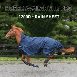 Manta de lluvia Avalanche Pro Horze Supreme Azul