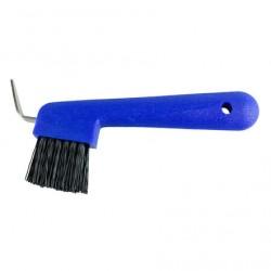 Cure-pied avec brosse Bleu
