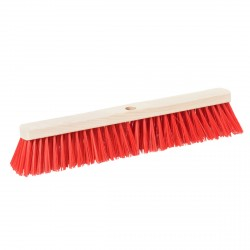 STABLE BROOM HEAD - red