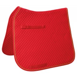 SADDLE CLOTH DRESSAGE CLASSIC Red
