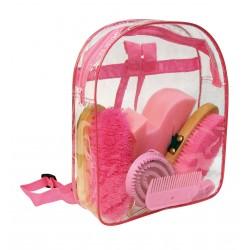 GROOMING KIT BACKPACK Pink
