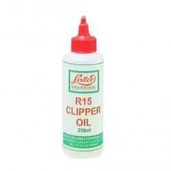 Aceite para esquiladoras Lister R15 250 ml