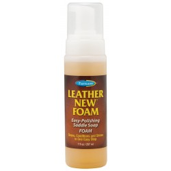 LEATHER NEW FOAM - savon glycériné mousse