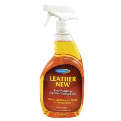 LEATHER NEW - glycerin soap