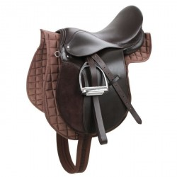 "Kerbl Haflinger Saddle Set 17,5"" Brown"