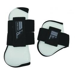 "NORTON ""PRO"" Tendon and fetlock boots White - black"