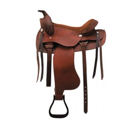 RANDOL'S WESTERN SADDLE, SMOOTH LEATHER
