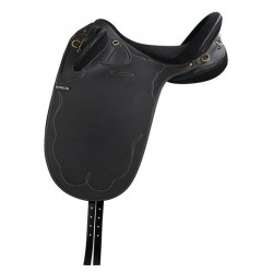 NORTON SYNTHETIC STOCK SADDLE Black